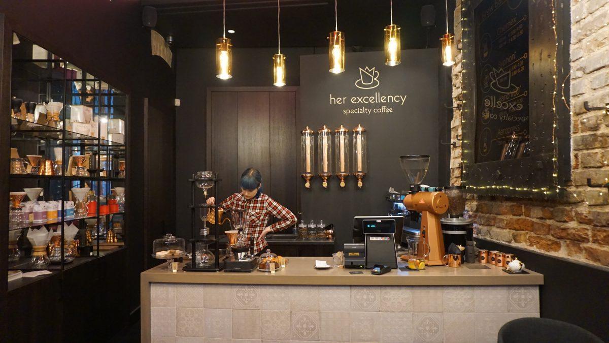 Her Excellency Cafe in Vilnius