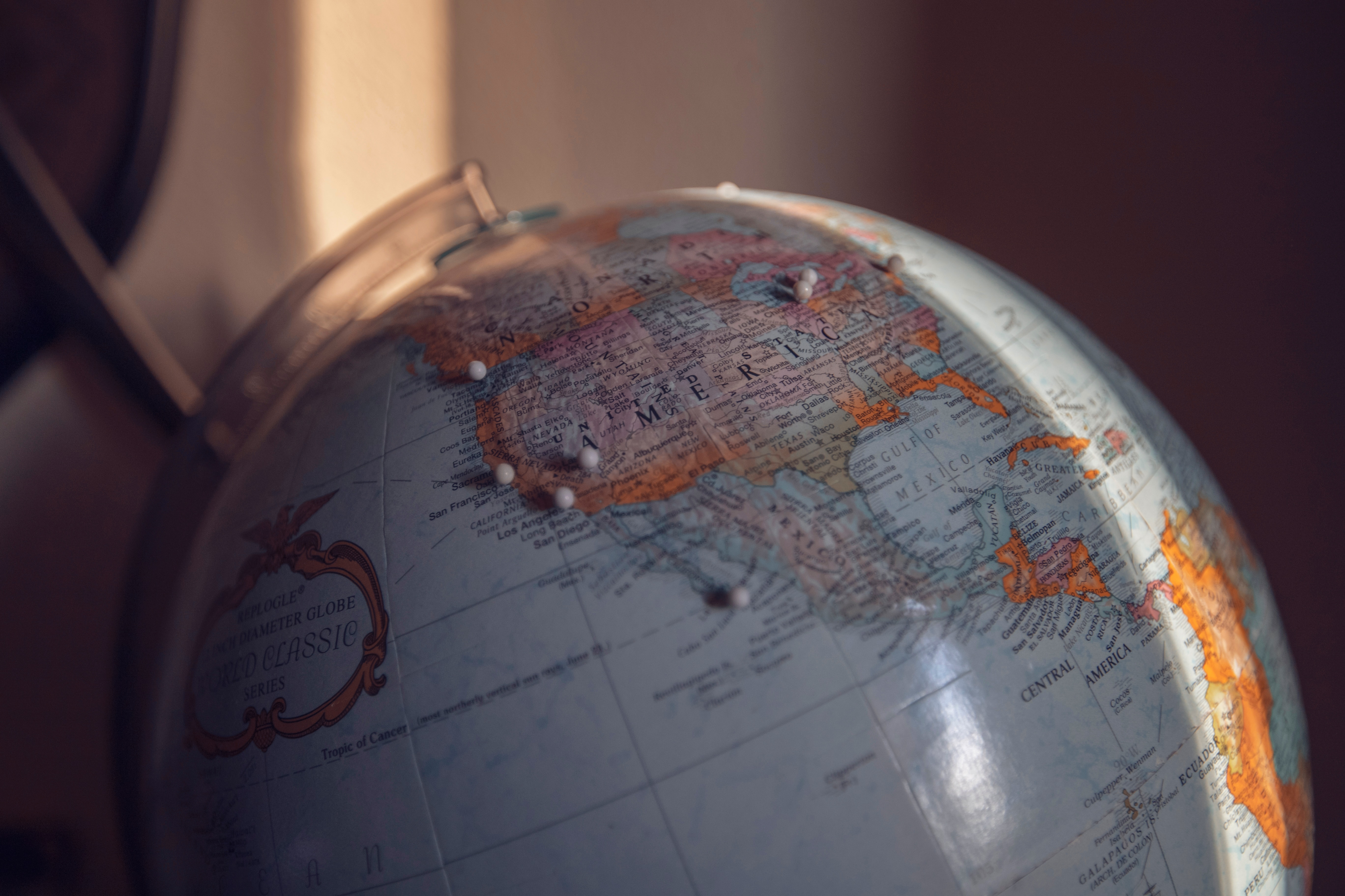 After you have lived the globe seems to become small