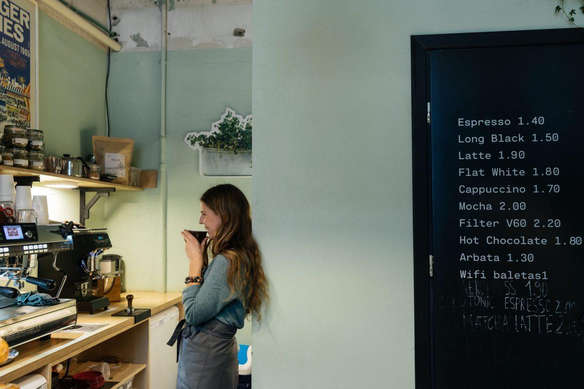 16i cafe in Vilnius