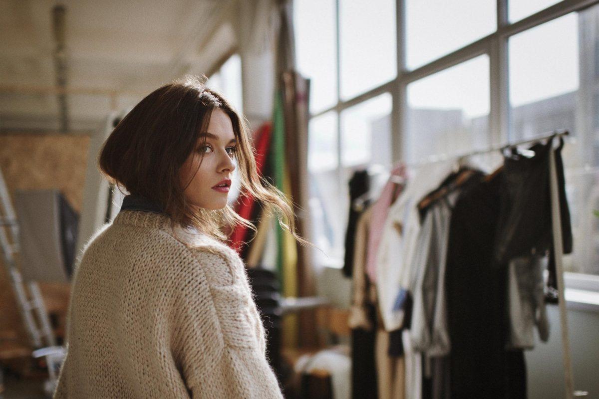 Lithuanian Knitwear clothing Fashion Brand photoshoot