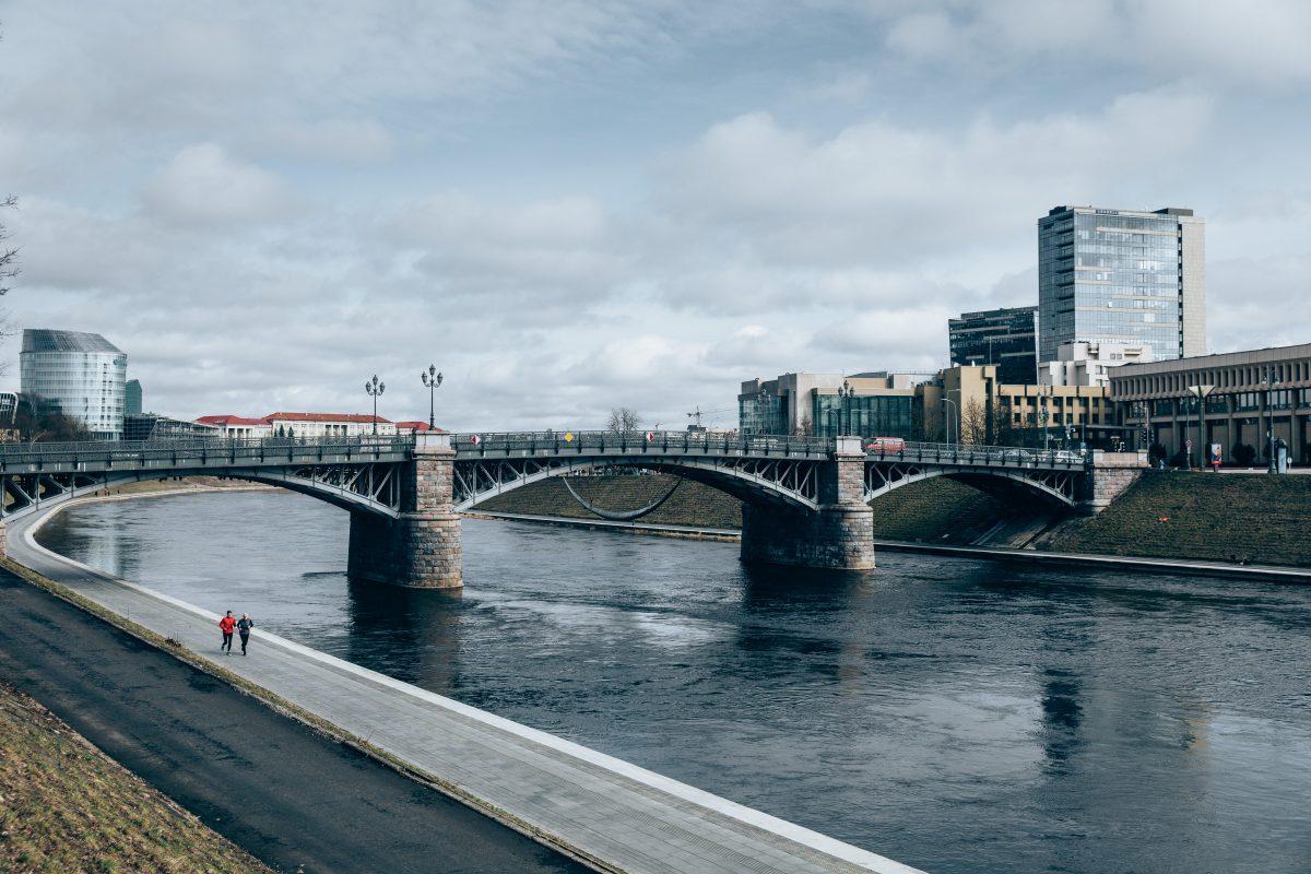 Zverynas brigde in Vilnius