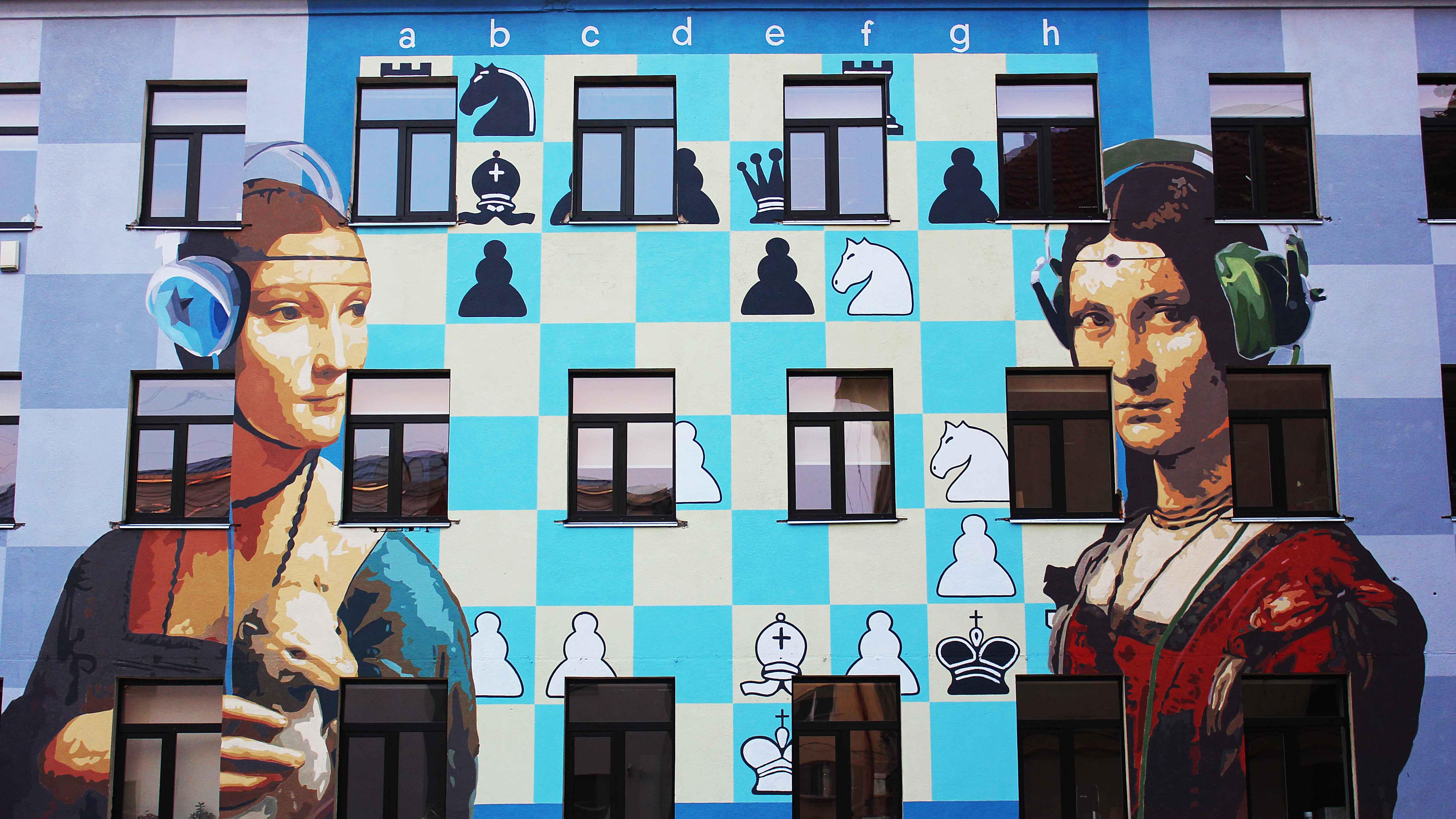 Linas Kazulionis Street Art in Vilnius
