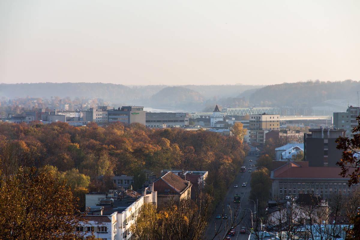 Kaunas panoramic view